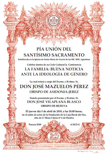 Conferencia Monseñor José Mazuelos
